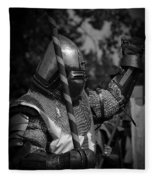 Medieval Faire Knight's Victory 1 Fleece Blanket