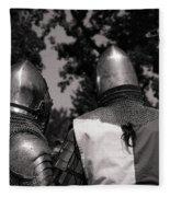 Medieval Faire Planning Strategies Fleece Blanket