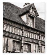 Medieval House Fleece Blanket