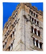 Medieval Tower Fleece Blanket