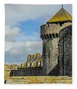 Medieval Towers Fleece Blanket