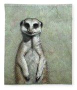 Meerkat Fleece Blanket