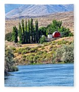 Melba Idaho Fleece Blanket