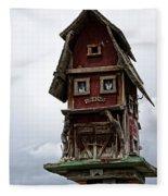 Melba Idaho's Birdhouse Fleece Blanket