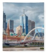 Melbourne Australia Fleece Blanket
