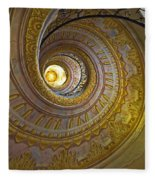 Melk Abbey Spiral Staircase Fleece Blanket