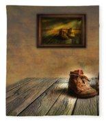 Mementos Exhibition Fleece Blanket