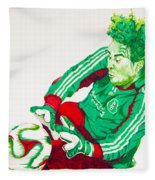 Memo Ochoa Drawing Fleece Blanket