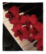Memories Of The Music Lovers - Vintage Style Fleece Blanket