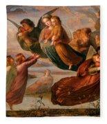 Memory Of Heaven Fleece Blanket
