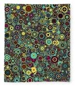 Memory Of Klimt Fleece Blanket
