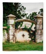 Memphis Elmwood Cemetery - Ayres Family Vault Fleece Blanket