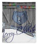 Memphis Grizzlies Fleece Blanket