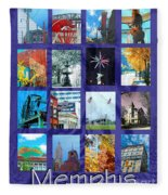 Memphis Fleece Blanket