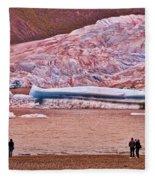 Mendenhall Glacier Juneau 2 Fleece Blanket