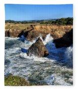 Mendocino Coast Fleece Blanket