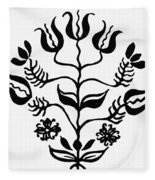 Mennonites Hex Sign Fleece Blanket