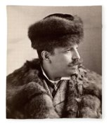 Men's Fashion, 1890s Fleece Blanket