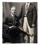 Men's Fashion, 1917 Fleece Blanket