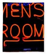 Men's Room Fleece Blanket