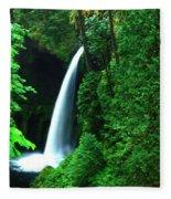 Menteko Falls  Fleece Blanket