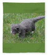 Meow Fleece Blanket