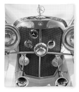 Mercedes Benz - Bw Fleece Blanket