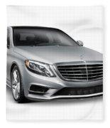 Mercedes-benz S550 4matic Luxury Car Fleece Blanket