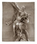 Mercury And Psyche Fleece Blanket