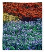 Merging Colors Fleece Blanket