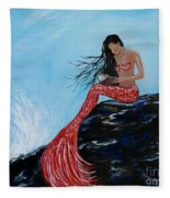 Mermaids Timeless Tales Fleece Blanket