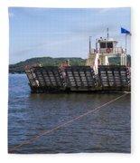 Merrimac Ferry - Wisconin Fleece Blanket