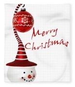 Merry Christmas Fleece Blanket