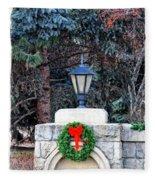 Merry Christmas From Boise Idaho Fleece Blanket