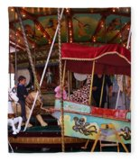 Merry Go Round Fleece Blanket