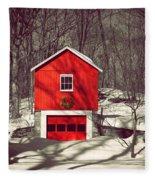 Merry Red Fleece Blanket