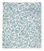 Merton Wallpaper Design Fleece Blanket