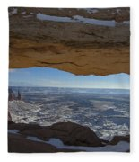 Mesa Arch Fleece Blanket
