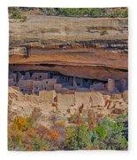 Mesa Verde Cliff Dwelling Fleece Blanket