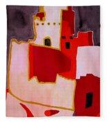 Mesa Verde Original Painting Sold Fleece Blanket