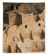 Mesa Verde Ruins  Fleece Blanket