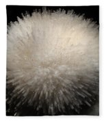 Mesolite And Fluoroapophyllite Fleece Blanket