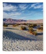 Mesquite Flat Dunes Fleece Blanket