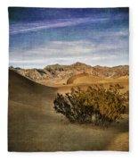 Mesquite Flat Sand Dunes Death Valley Img 0080 Fleece Blanket