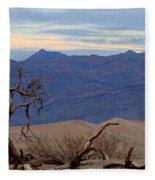 Mesquite Flat Sand Dunes Stovepipe Wells Death Valley Fleece Blanket