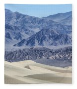 Mesquite Sand Dunes Fleece Blanket