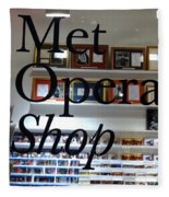 Met Opera Shop Fleece Blanket