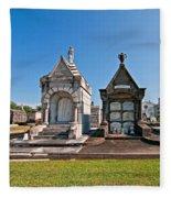 Metairie Cemetery 4 Fleece Blanket