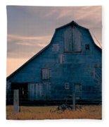Metal Faced Barn Fleece Blanket