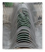 Metal Strips Fleece Blanket